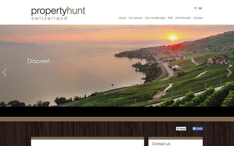 Screenshot of Site Map Page propertyhunt.ch - Sitemap | Property Hunt - captured Oct. 3, 2014