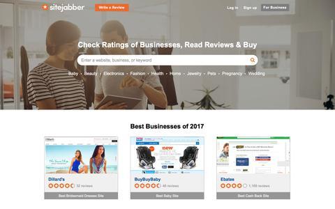 Sitejabber: Check Ratings of Businesses, Read Reviews & Buy - Sitejabber