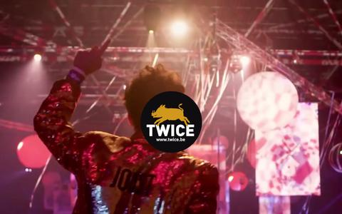 Screenshot of Home Page twice.be - Events | TWICE entertainment | Roeselare - captured July 12, 2019