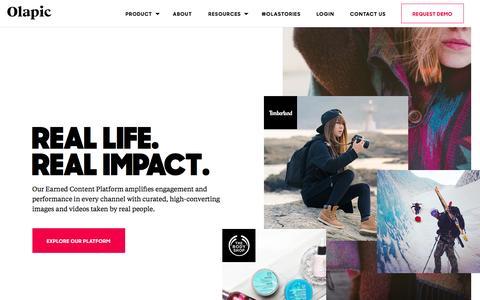Olapic | Visual Commerce Platform | Visual Marketing Platform - Olapic | Visual Commerce Platform | Visual Marketing Platform