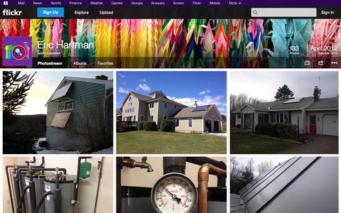 Screenshot of Flickr Page flickr.com - Flickr: harvestarpower's Photostream - captured Oct. 22, 2014