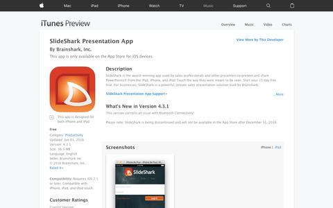 SlideShark Presentation App on the App Store