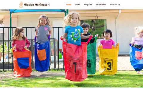 Screenshot of Press Page missionmontessoriacademy.com - Mission Montessori - captured Oct. 26, 2014