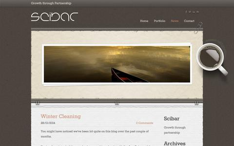 Screenshot of Press Page scibar.org - Scibar - News - captured Sept. 30, 2014