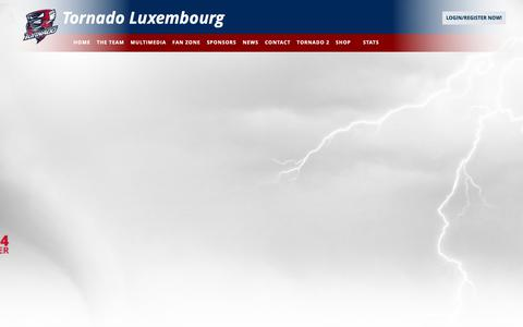 Screenshot of Team Page tornadoluxembourg.com - Tornado Luxembourg - THE TEAM - captured Oct. 25, 2018