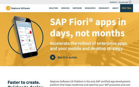 SAP Fiori App Development in Days | Enterprise Mobility | Neptune Software