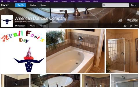 Screenshot of Flickr Page flickr.com - Flickr: American Bullnose Company's Photostream - captured Oct. 23, 2014
