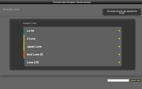 Screenshot of Home Page love-jtm.com - love-jtm.com-This website is for sale!-love-jtm Resources and Information. - captured Sept. 28, 2018