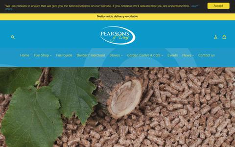 Screenshot of Home Page pearsonsofduns.co.uk - Pearsons of Duns - captured Sept. 27, 2018