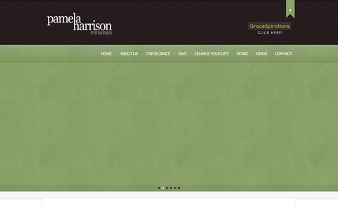 Screenshot of Home Page pamelaharrisonministries.org - Pamela Harrison Ministries | Making Him known - captured Jan. 23, 2015