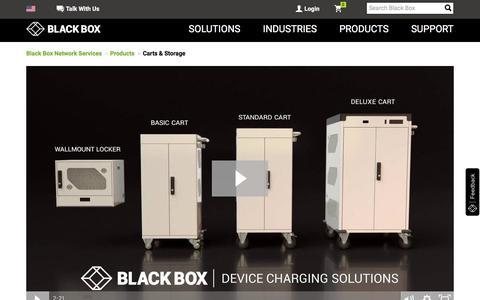 Carts & Storage- Tablet & Laptop Carts, Charging & Storage I Black Box