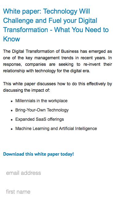 Blazent - Technology Will Challenge and Fuel your Digital Transformation - What You Need to Know