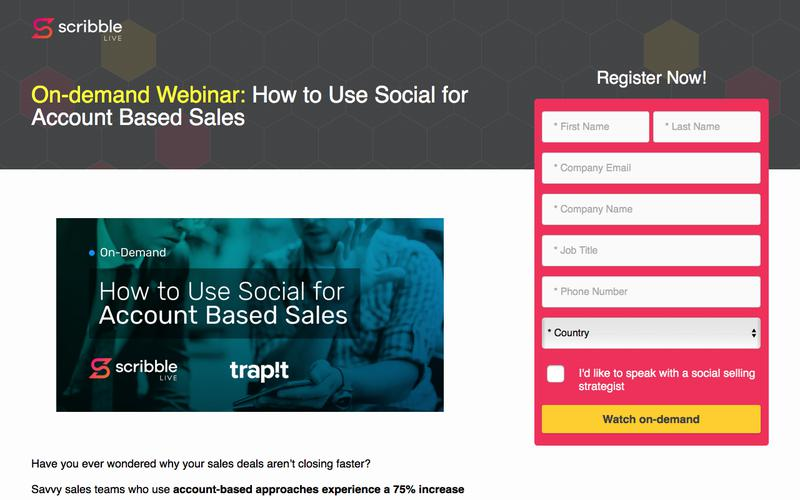 How to Use Social for Account Based Sales