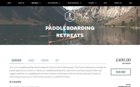 Paddleboarding retreats — Psyched Adventures