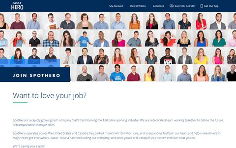 Find Your Spothero Career | Spothero