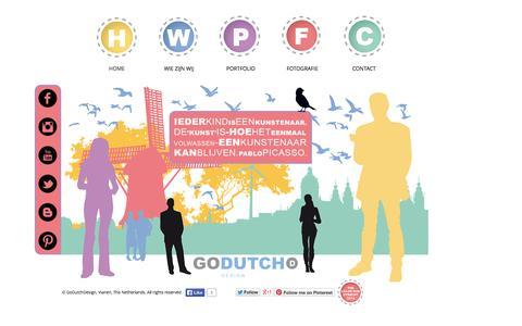 Screenshot of Home Page godutchdesign.nl - GoDutchDesign, Vianen, The Netherlands, Go Dutch Design - captured Oct. 2, 2014