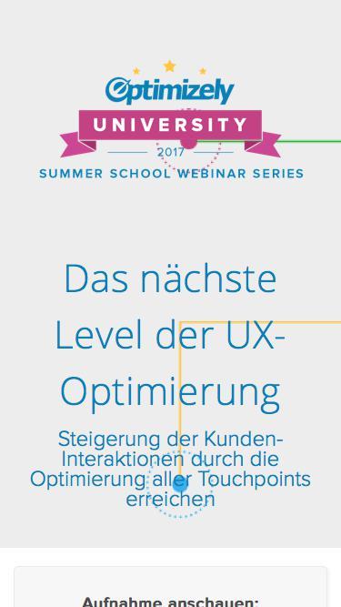 Das nächste Level der UX-Optimierung
