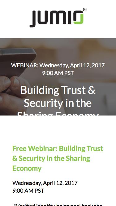 Building Trust & Security in the Sharing Economy