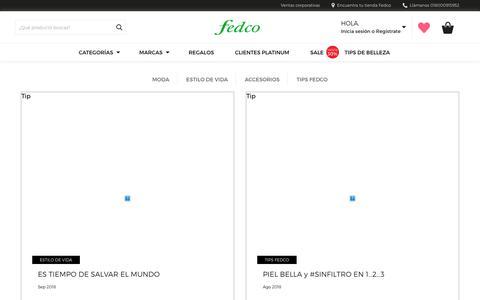 Screenshot of Blog fedco.com.co - Blog - Fedco - captured Oct. 10, 2018