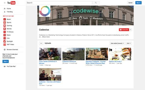 Codewise  - YouTube