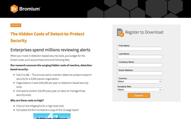 The Hidden Costs of Detect-to-Protect Security | Bromium