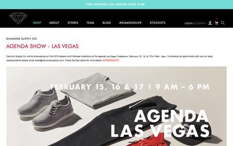 Screenshot of Blog Press Page diamondsupplyco.com - Diamond Supply Co. - captured Feb. 16, 2016