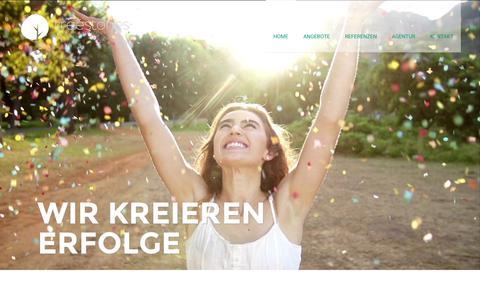 Screenshot of Jobs Page treestones.ch - Tree Stones | Die kreative Webagentur in Luzern - captured Sept. 28, 2015
