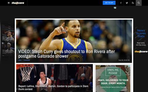 Trending News | theScore.com