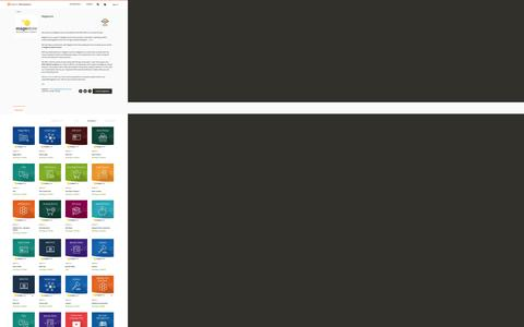 Screenshot of Developers Page magento.com - Magento Marketplace - captured March 9, 2017