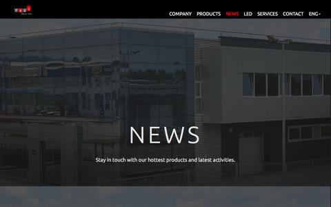 Screenshot of Press Page fazi.rs - FAZI - captured Sept. 29, 2016