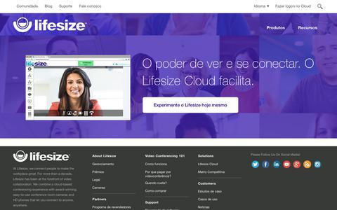 Soluções de videoconferência em HD para pequenas e grandes empresas   Lifesize