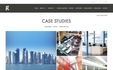 Screenshot of Case Studies Page gof.co.uk - Case Studies – Gresham - captured Nov. 16, 2016