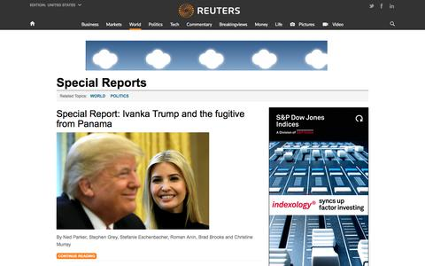Special Reports | Reuters.com
