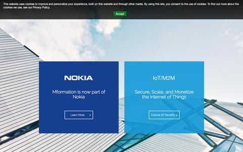 Screenshot of Support Page internet-of-things-innovation.com - Nokia and IoT - IoT Innovation - captured July 5, 2018