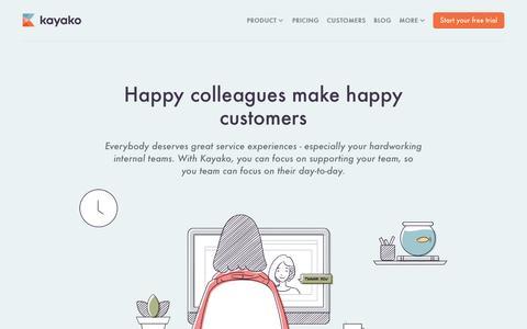 Internal Helpdesk For Employees   Kayako