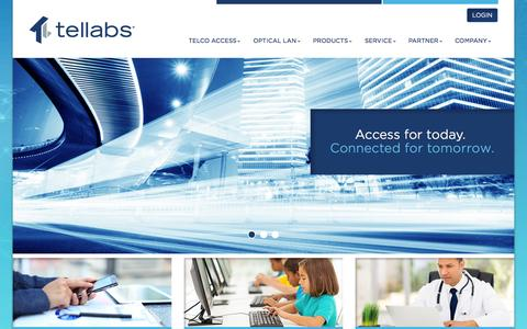 Tellabs | Find Your Optical Solutions