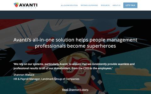 Become a People Management Superhero | Avanti Software