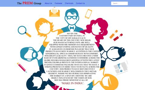 Screenshot of About Page premindia.com - About Us – SPICE - captured Jan. 31, 2016