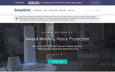 Home Security Systems from SimpliSafe