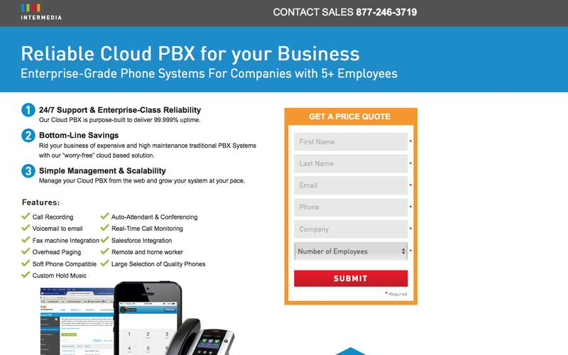 Intermedia Cloud PBX Service – Enterprise-Grade Phone Systems With Reliable Service & Easy Migration
