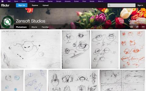 Screenshot of Flickr Page flickr.com - Flickr: Zensoft Studios' Photostream - captured Oct. 25, 2014