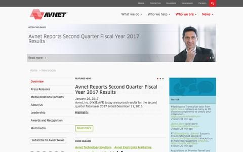 Avnet Newsroom |