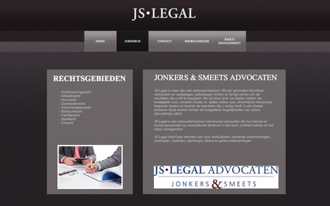 Screenshot of Services Page js-legal.nl - JS Legal Services - captured Oct. 3, 2014