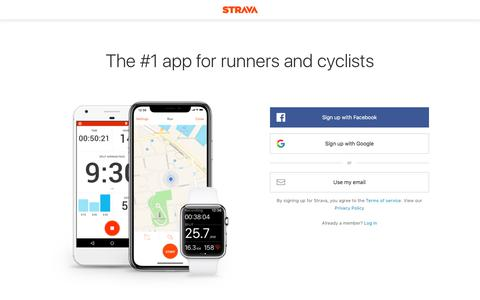 Strava | Run and Cycling Tracking on the Social Network for Athletes
