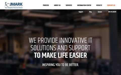 We Provide Simple and Innovative IT Solutions to Make Life Easier - JMARK