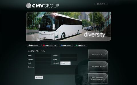 Screenshot of Contact Page cmv.com.au - - CMV Group - captured Oct. 1, 2014