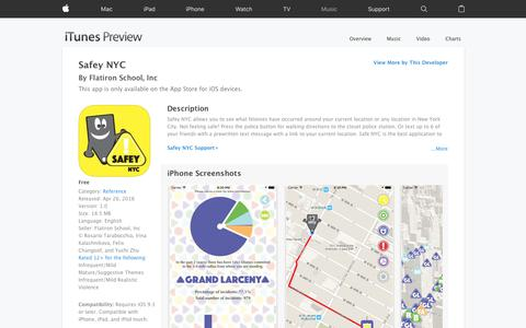 Safey NYC on the App Store