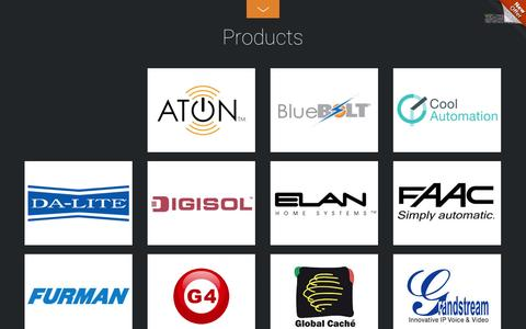 Screenshot of Products Page ocher.co.in - Products - Ocher LV Solutions - captured Nov. 3, 2014