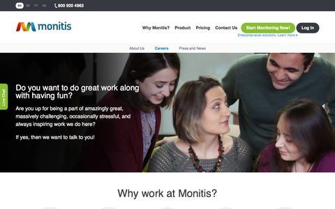 Careers � Monitis