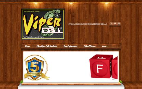 Screenshot of FAQ Page zooffer.com - FAQ - Viper Cell - captured Oct. 27, 2014